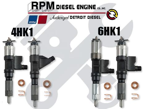 Isuzu Diesel Fuel Injectors