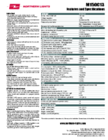 S156 M150C13 spec sheet v1