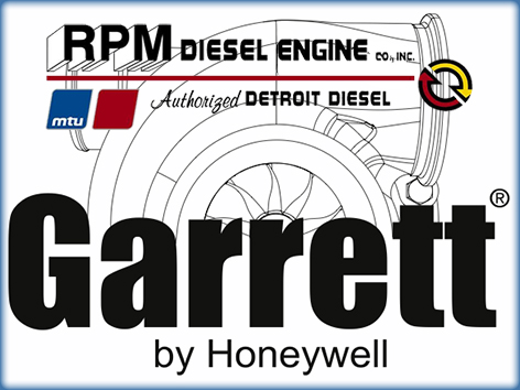 Garrett Turbo - Marine Diesel Engine Repair