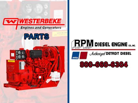 Westerbeke Generator Parts