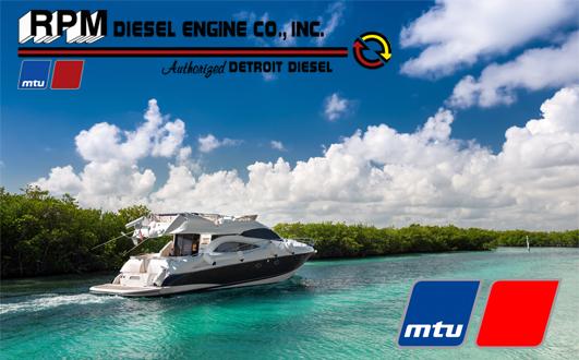 MTU Marine Diesel