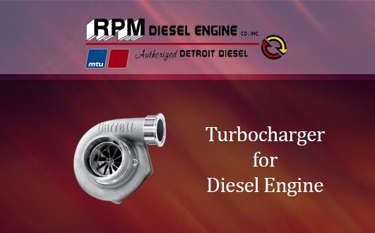 Turbocharger for Diesel Engine