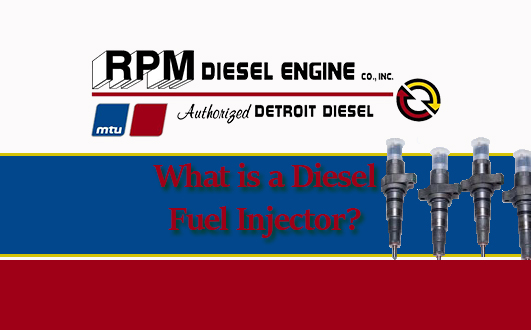 Diesel Engine Fuel Injector