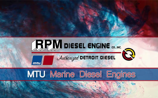 MTU Marine Diesel Engines