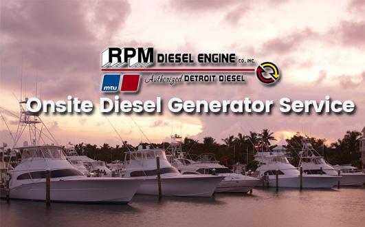 Onsite Diesel Generator Service
