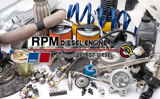 repair a marine diesel-powered