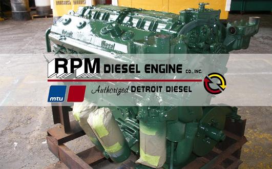 Detroit Marine Diesel