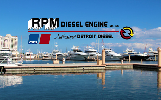 Detroit Marine Diesel Engines